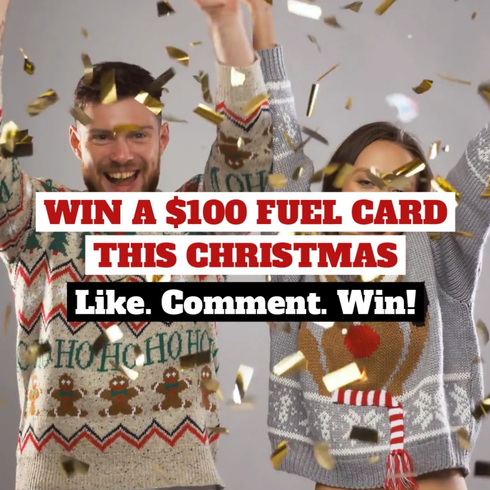 WIN A $100 FUEL CARD THIS CHRISTMAS