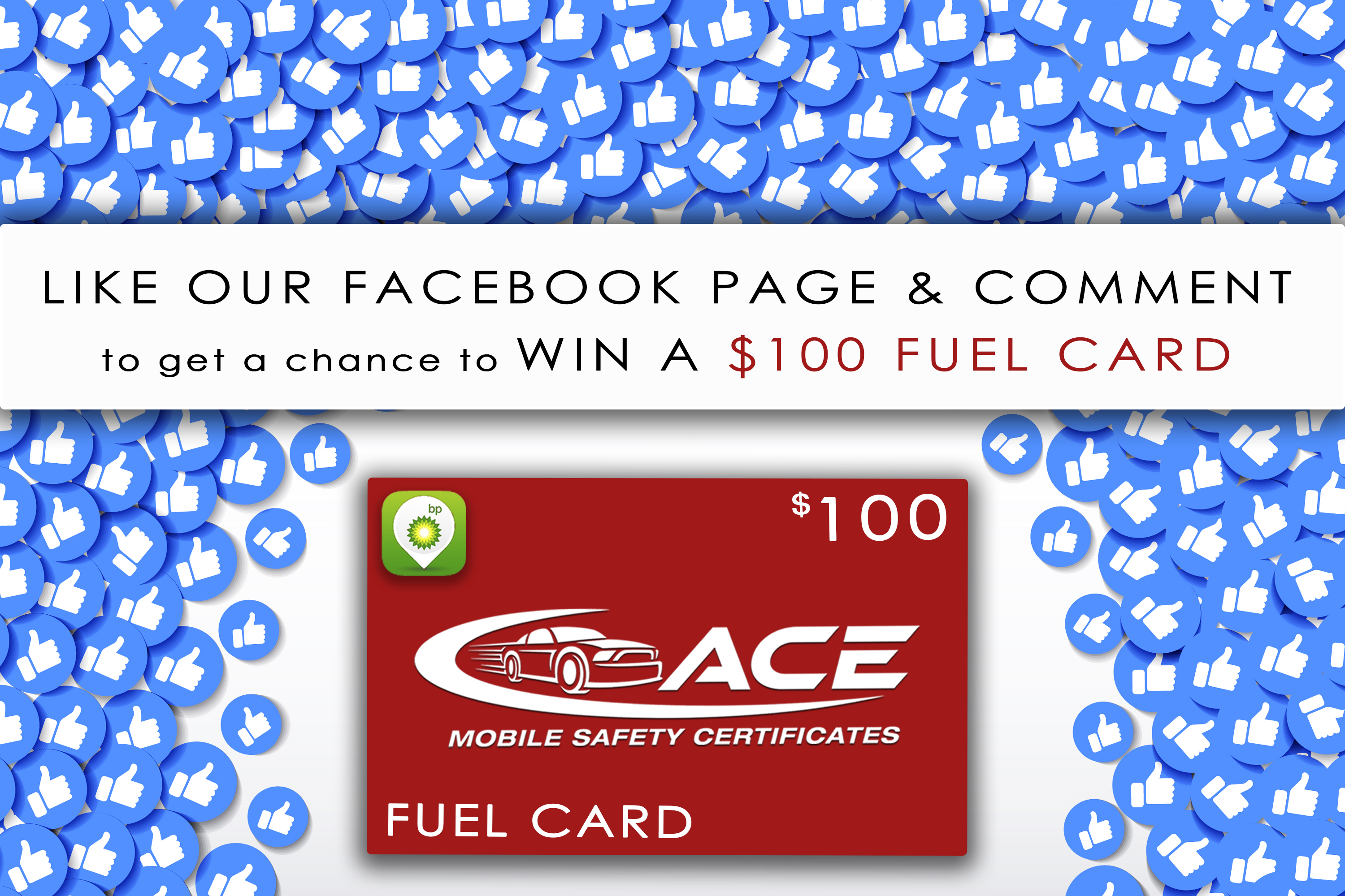 WIN a $100 FUEL CARD!
